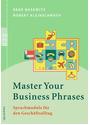 Master your Business Phrases: Sprachmodule für den Geschäftsalltag - Rene Bosewitz