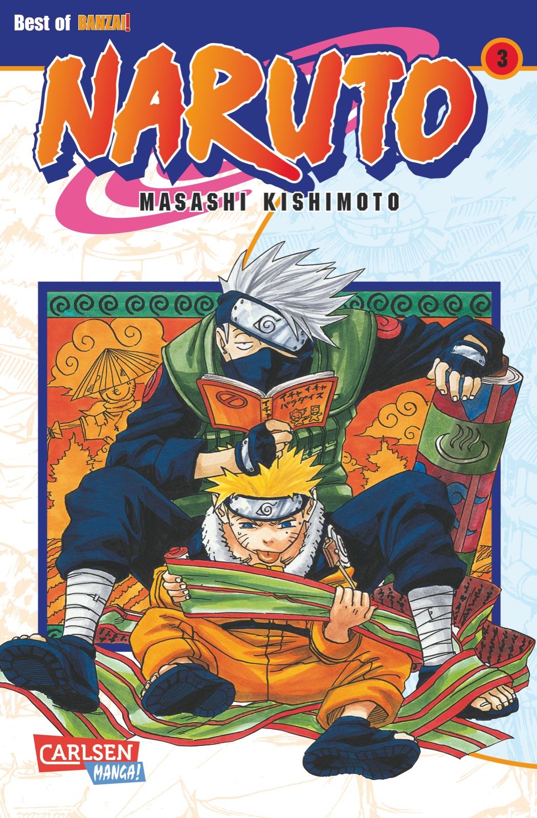 Naruto: Band 3 - Masashi Kishimoto