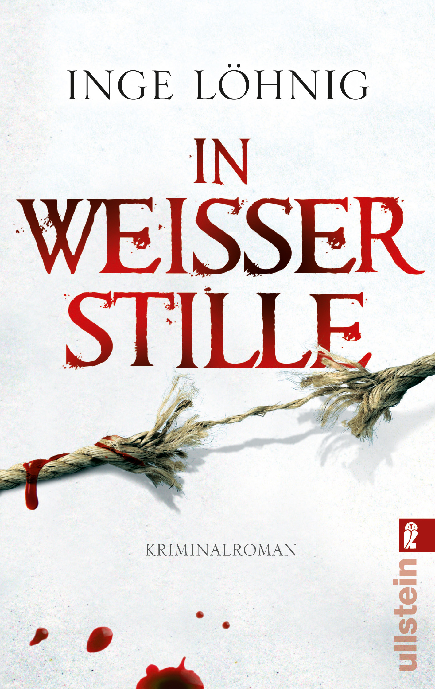 In weißer Stille: Kommissar Dühnforts zweiter Fall - Inge Löhnig [Taschenbuch]