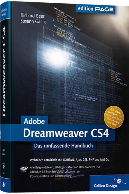Adobe Dreamweaver CS4: Webseiten entwickeln mit...