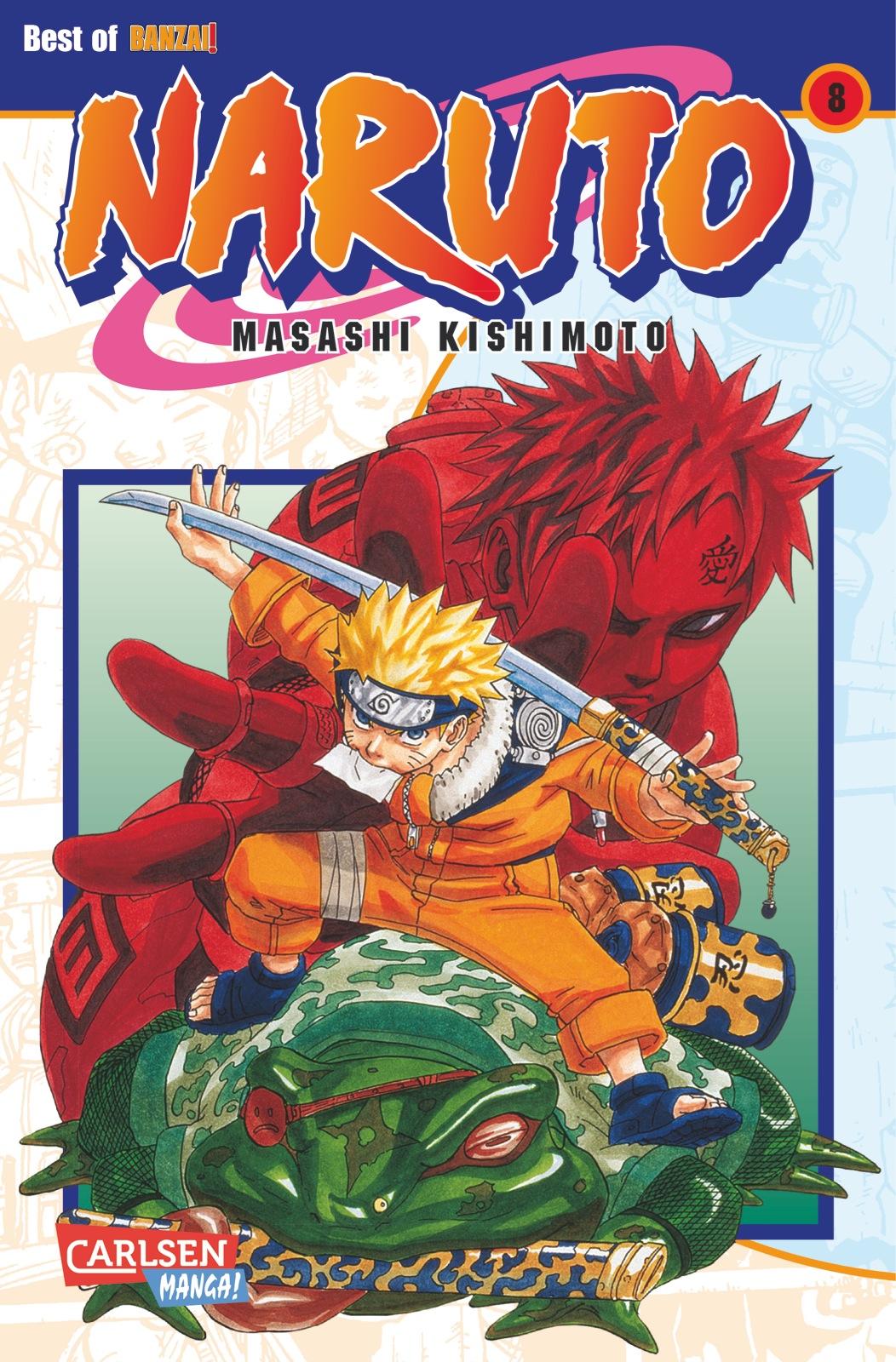 Naruto: Band 8 - Masashi Kishimoto