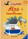 Leserabe: Ätze, das Tintenmonster - 3. Lesestufe - Ursel Scheffler [Gebundene Ausgabe]