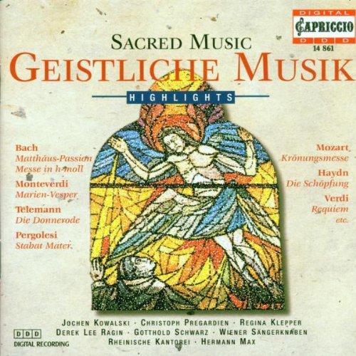 Various - Geistliche Musik - Sacred Music - Hig...