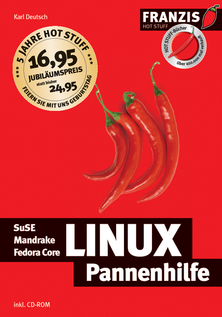 Linux-Pannenhilfe. SuSE, Mandrake, Redhat Fedor...