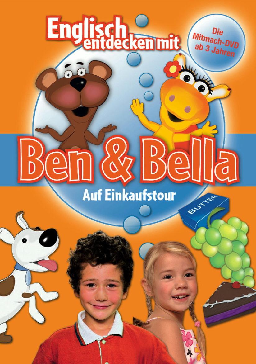 Englisch entdecken mit Ben & Bella: Auf Einkaufstour