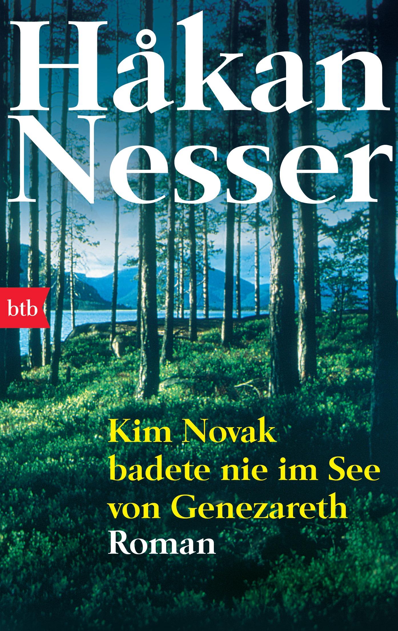 Kim Novak badete nie im See von Genezareth - Håkan Nesser
