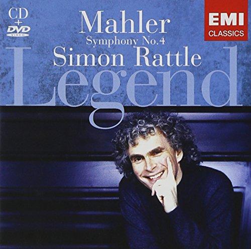 Simon Rattle - Legend [Malher] - CD & DVD