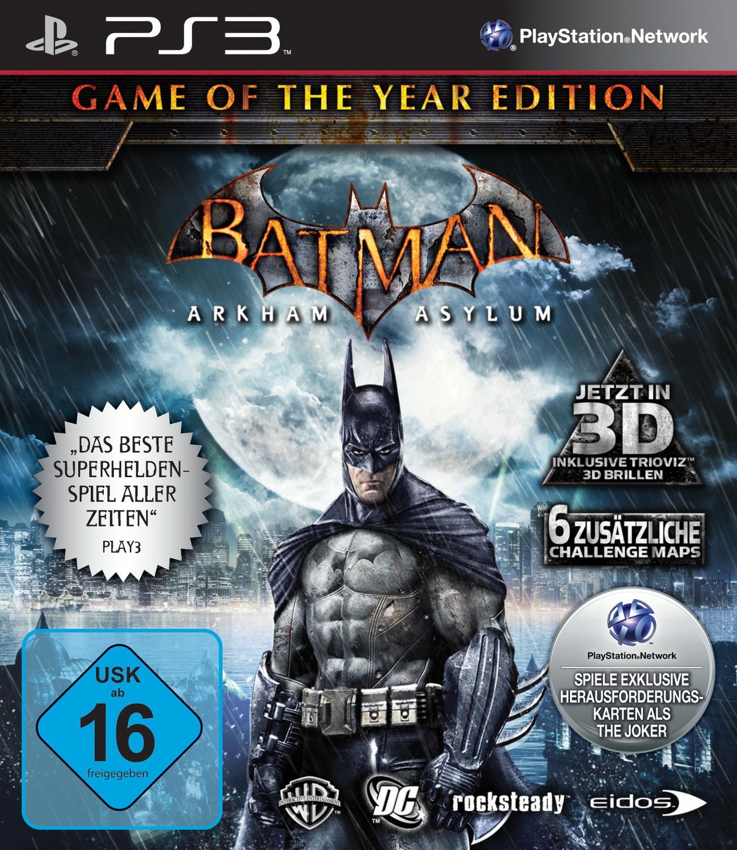 Batman Arkham Asylum [Game of The Year Edition]