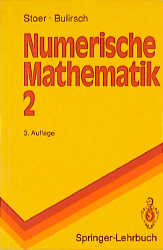 Numerische Mathematik 2 - Josef Stoer