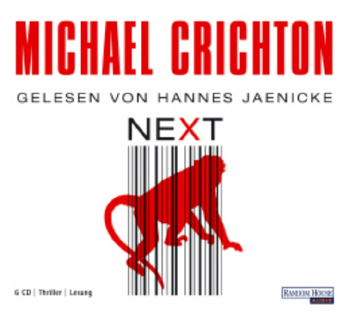 Next. 6 CDs - Michael Crichton