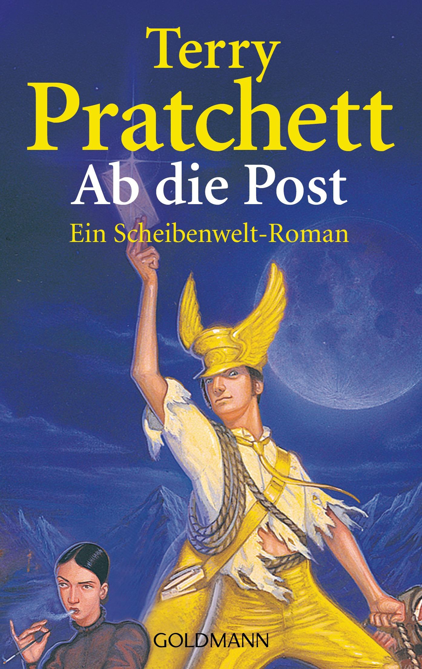 Ab die Post - Ein Scheibenwelt-Roman - Terry Pratchett