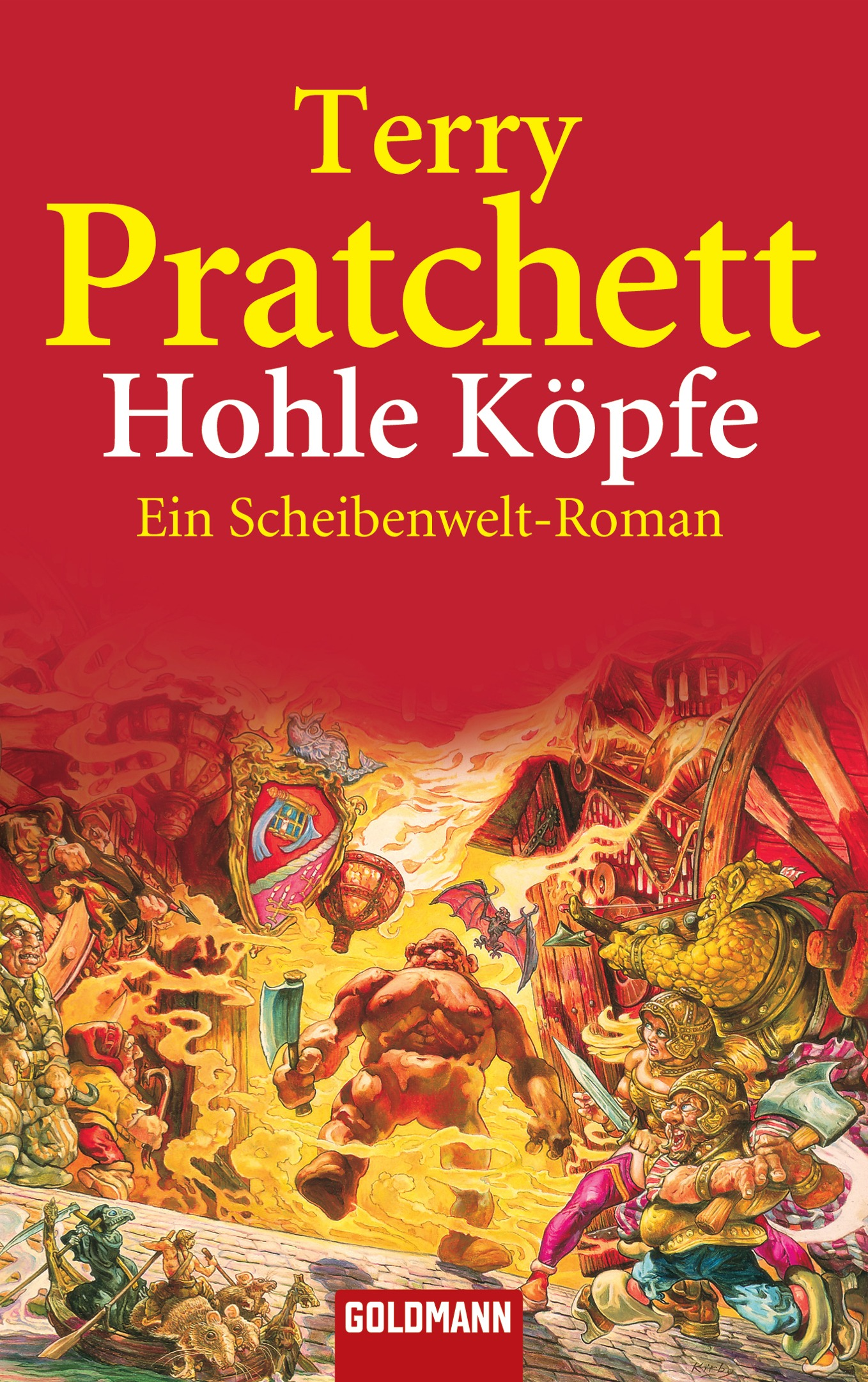 Hohle Köpfe - Ein Scheibenwelt-Roman - Terry Pratchett