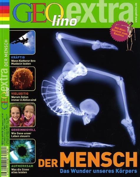 GEOlino Extra 10/2007: Der Mensch - Martin Verg