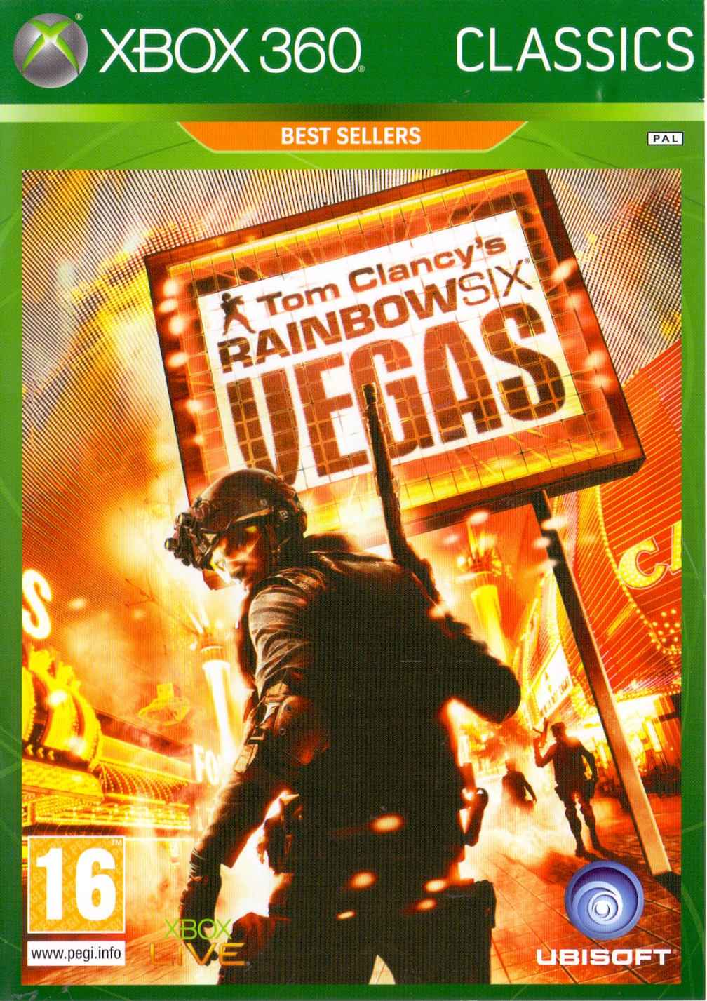 Tom Clancy´s Rainbow Six: Vegas [Classics Best Seller, Internationale Version]