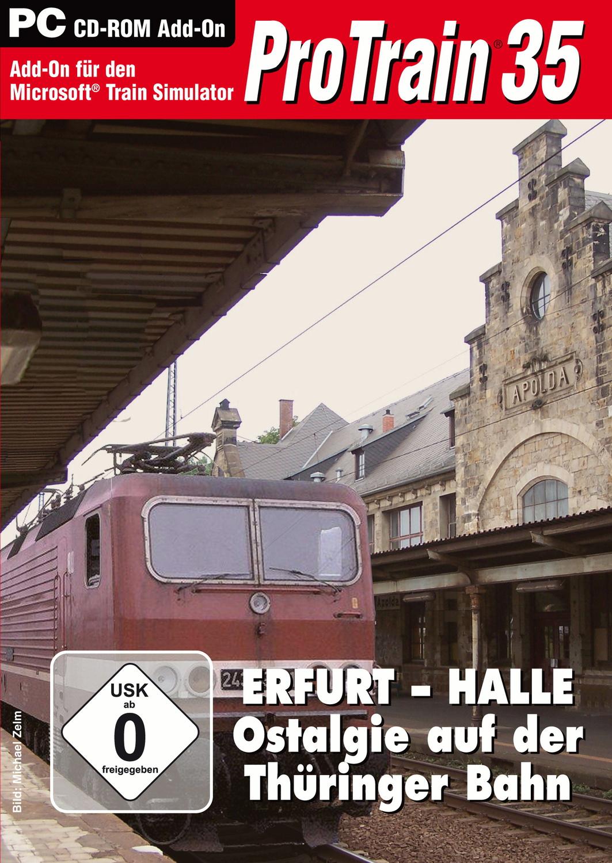 ProTrain 35: Erfurt - Halle