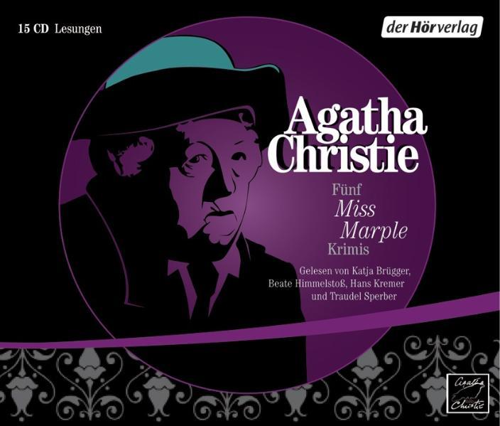 Mord im Pfarrhaus / 16 Uhr 50 ab Paddington / Bertrams Hotel / Die Tote in der Bibliothek / Fata Morgana - Agatha Christie [15 Audio CDs]