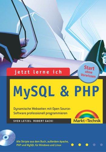 Jetzt lerne ich MySQL & PHP, m. CD-ROM - Sven L...