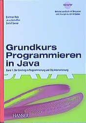 Grundkurs Programmieren in Java, Bd.1, Einstieg...