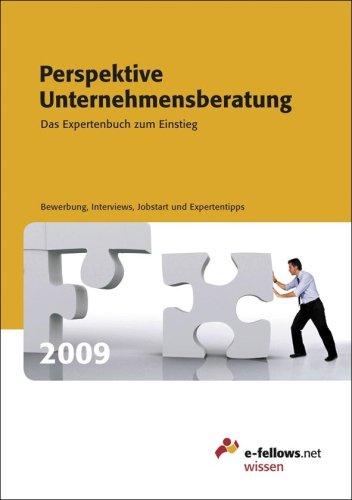 Perspektive Unternehmensberatung 2009: Das Expe...
