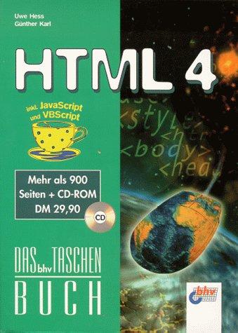 HTML 4 - Uwe Hess