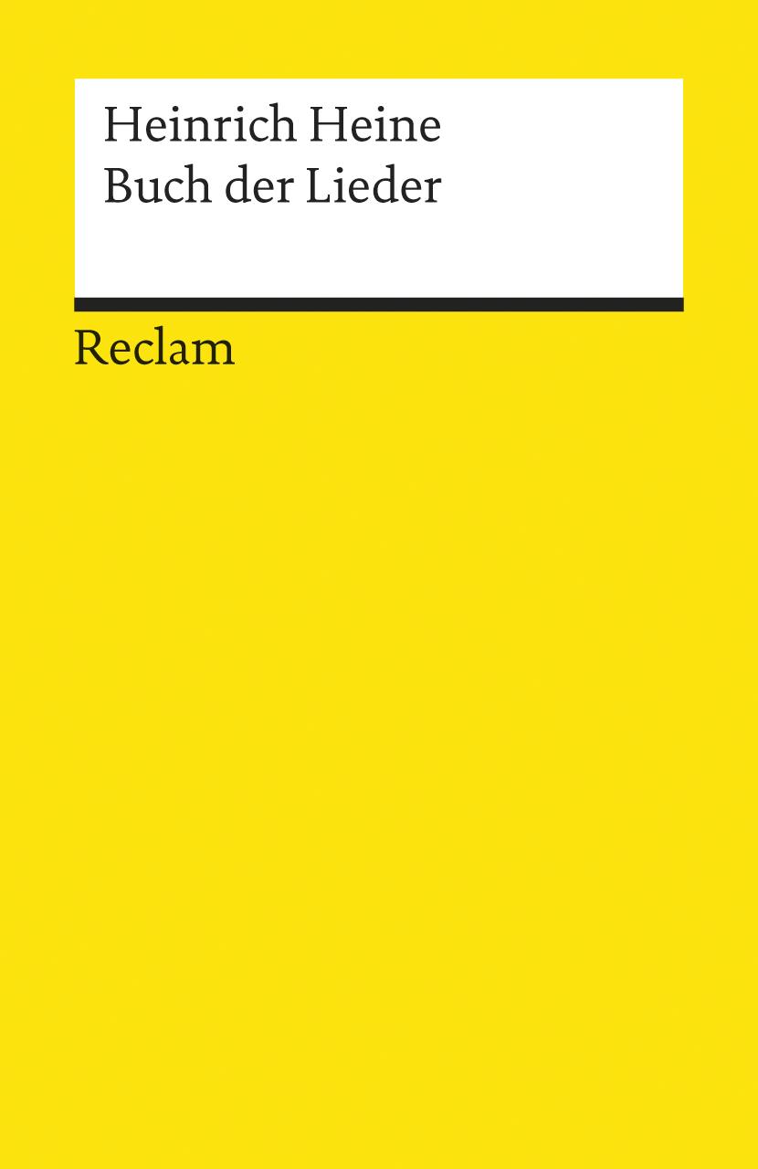 Buch der Lieder - Heinrich Heine