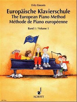 Europäische Klavierschule, Bd.1 - Fritz Emonts
