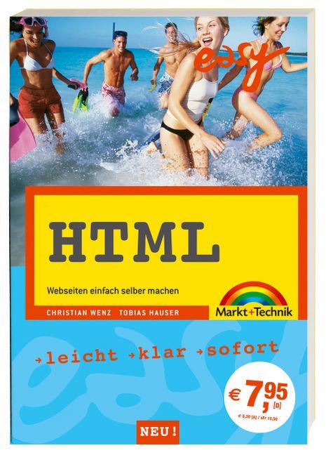 HTML easy zum Mitnehmen . Webseiten einfach sel...