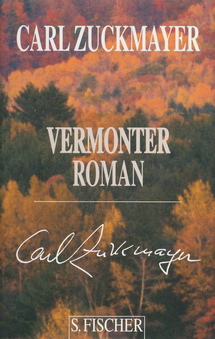 Vermonter Roman - Carl Zuckmayer