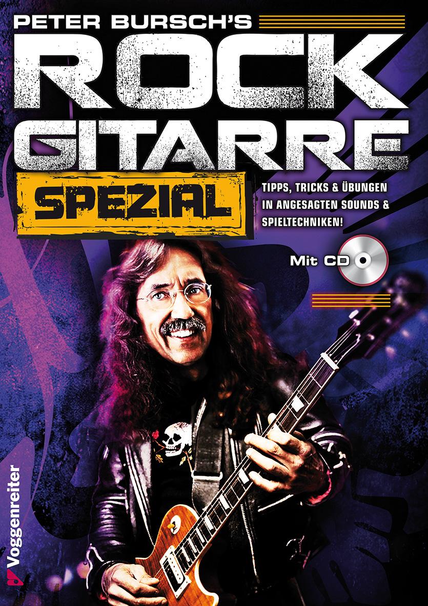 Rock Gitarre Spezial für Aufsteiger, m. CD-Audio. - Peter Bursch