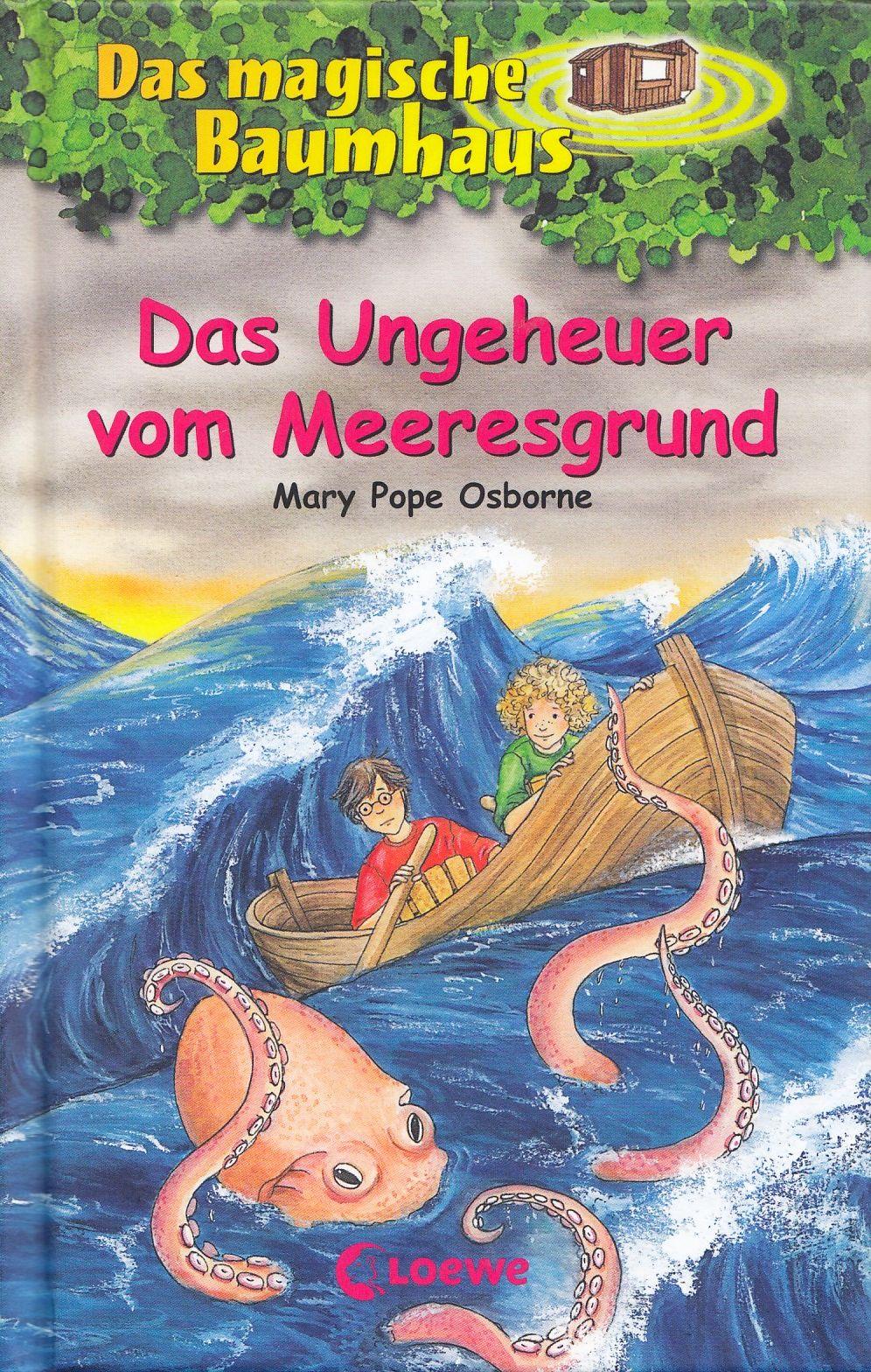 Das magische Baumhaus: Band 37 - Das Ungeheuer vom Meeresgrund - Mary Pope Osborne [Gebundene Ausgabe]