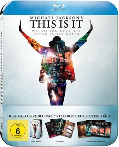 Michael Jackson´s This Is It [Steelbook, Limited Edition, inkl Booklet, 4 Fan-Postkarten, 3 Lenticular Backstage-Pässe]