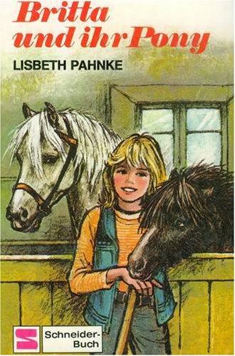 Anna und ihr Pony werden Freunde . Strolch Papp...