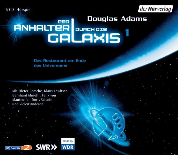 Per Anhalter durch die Galaxis: Folge 1 - Das Restaurant am Ende des Universums - Douglas Adams [6 Audio CDs]