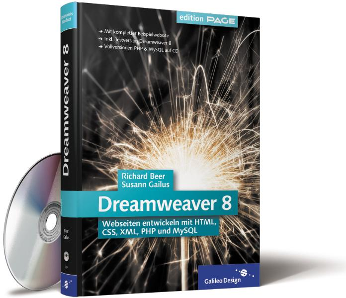 Dreamweaver 8. Webseiten entwickeln mit HTML, C...