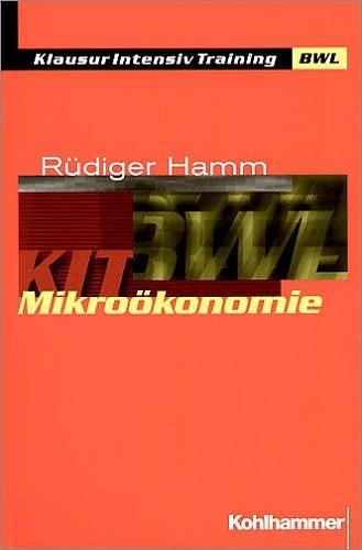 Mikroökonomie - Rüdiger Hamm