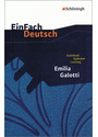 EinFach Deutsch - Textausgaben: Emilia Galotti. Mit Materialien - Gotthold Ephraim Lessing
