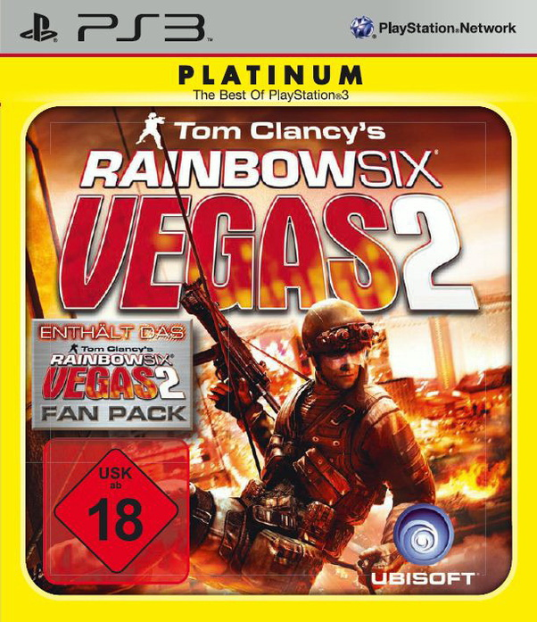 Rainbow Six Vegas 2 - Platinum