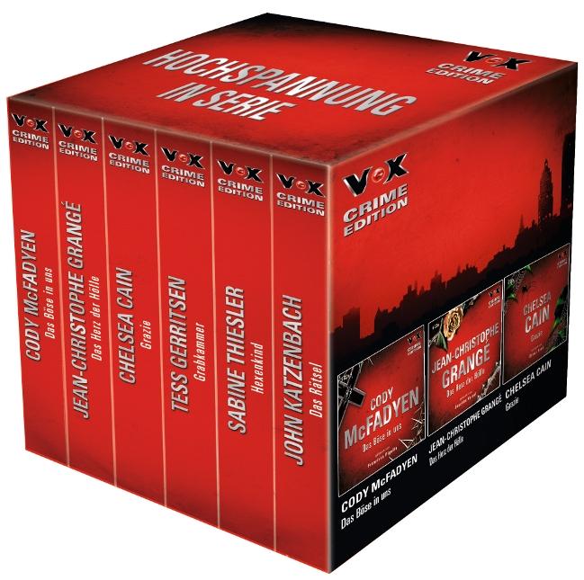 VOX Crime Edition-Box: Das Böse in uns / Das Herz der Hölle / Grazie / Grabkammer / Hexenkind / Das Rätsel - Cody McFadyen et al. [36 Audio CDs]