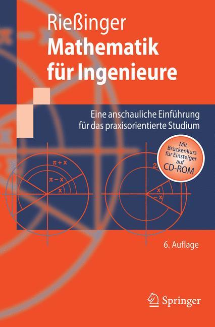 Mathematik für Ingenieure / Mit CD-ROM. Eine an...