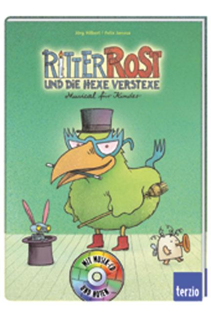 Ritter Rost und die Hexe Verstexe. Buch und CD:...