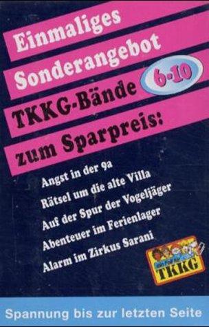 TKKG Taschenbücher - Band 6 - 10 - Stefan Wolf