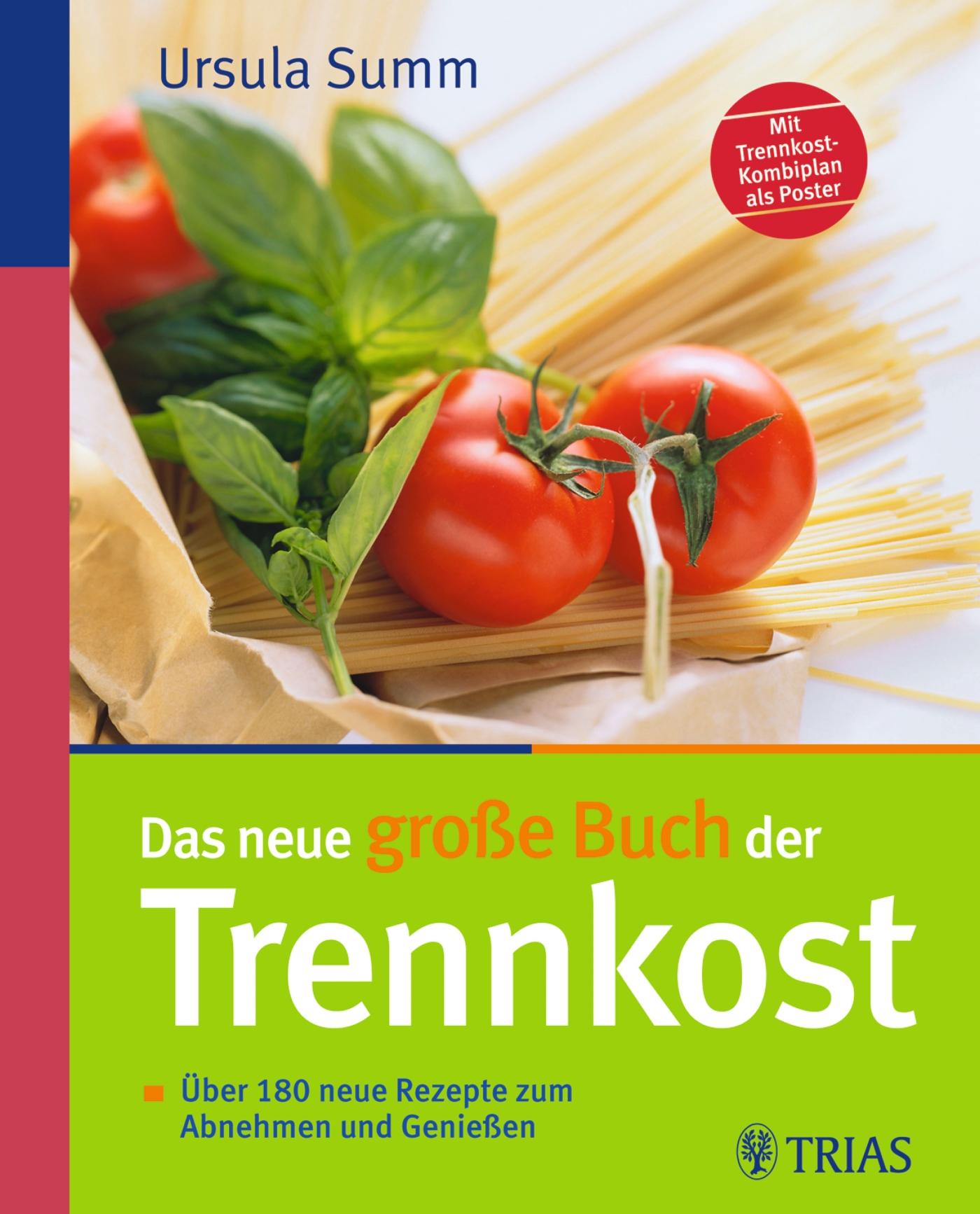 Das neue große Buch der Trennkost: Über 180 neue Rezepte zum Abnehmen und Genießen - Ursula Summ