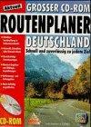 CD- ROM Routenplaner Deutschland. Für Windows 3...