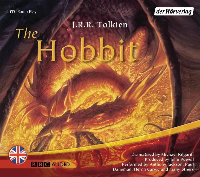 The Hobbit. 4 CDs - John Ronald Reuel Tolkien
