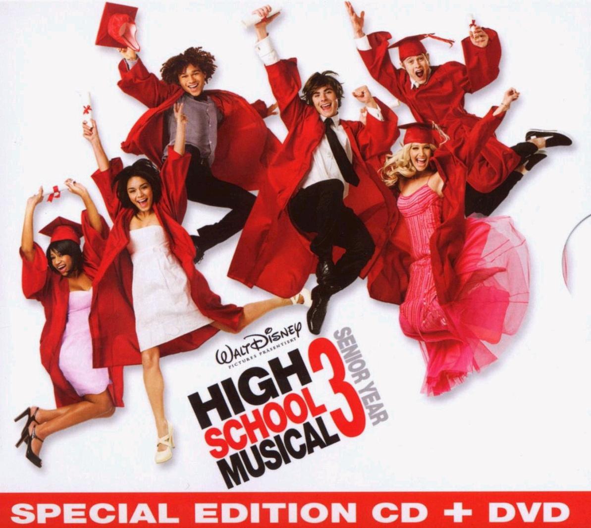 High School Musical 3: (CD+Making-Of-DVD) [Soun...