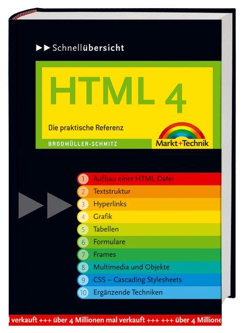 Schnellübersicht HTML 4. Die praktische Referen...