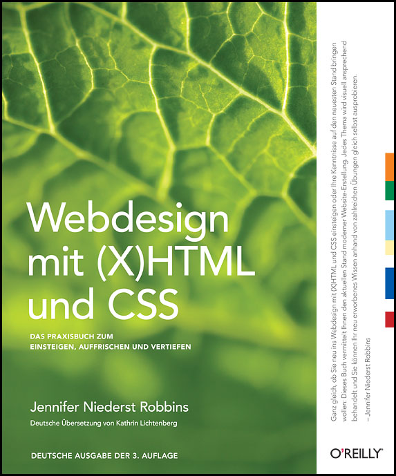 Webdesign mit (X)HTML und CSS: Ein Praxisbuch z...