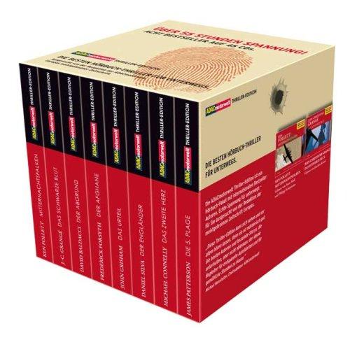 ADAC Motorwelt Thriller-Edition: Das Urteil / Der Afghane / Die 5. Plage / Der Abgrund / Der Engländer / Das zweite Herz / Mitternachtsfalken / Das schwarze Blut - John Grisham [8er Box]