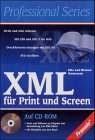 XML für Print und Screen, m. CD-ROM - Elke Nied...