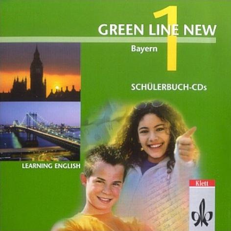 Green Line New 1: Englisches Unterrichtswerk für Gymnasien - Ausgabe Bayern [Audio CD]